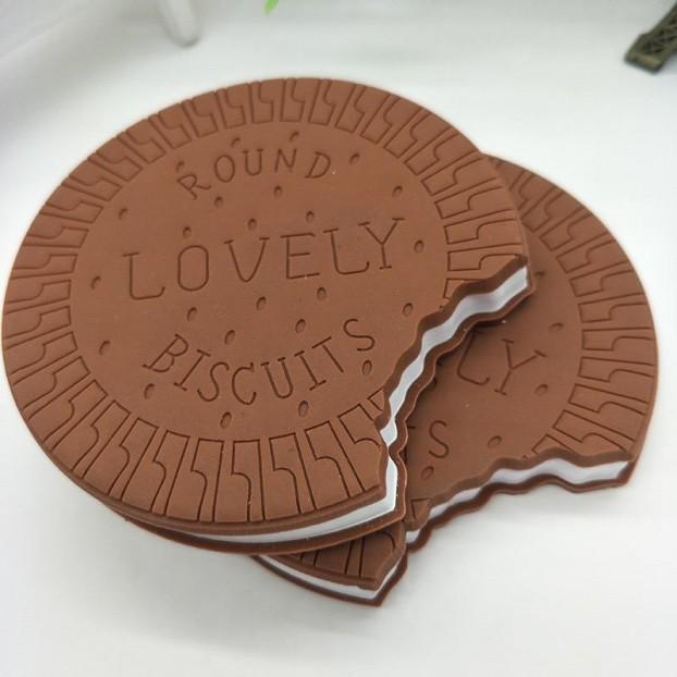 دفتر شكل شوكولاتة