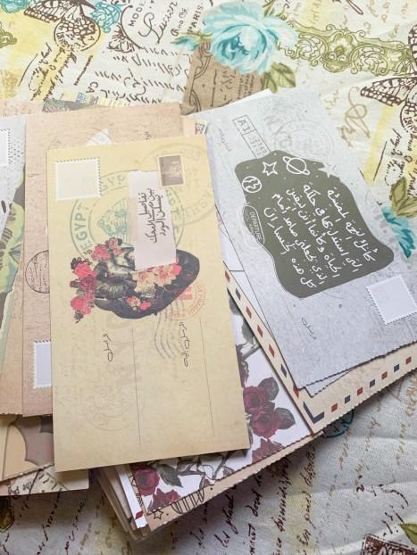 ٤ رسائل بريدية منوعة