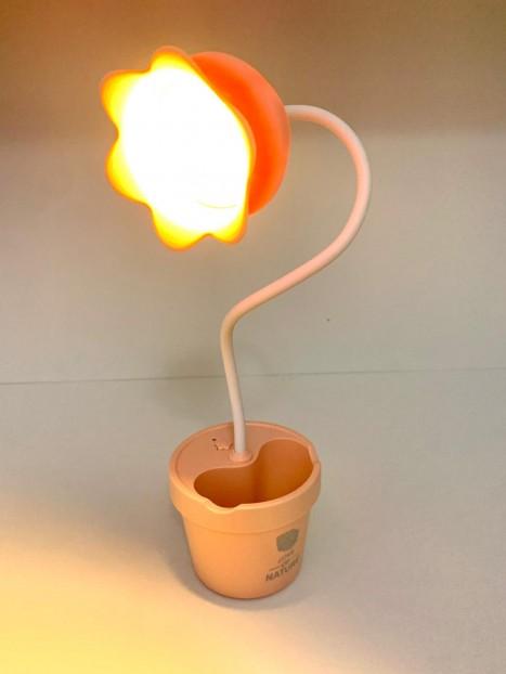تيبل لامب شكل وردة متحركة حجم مناسب للمكتب